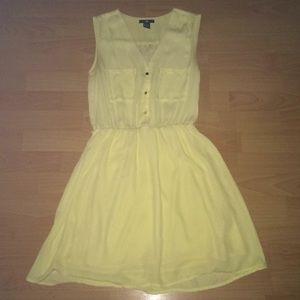 Yellow H&M dress size 4